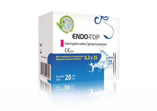 Endo irrigation needles ENDO-TOP – CERKAMED Medical Company Poland